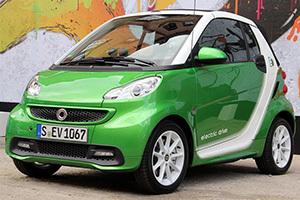 smartfortwo电动标志,点击进入smartfortwo电动车型页