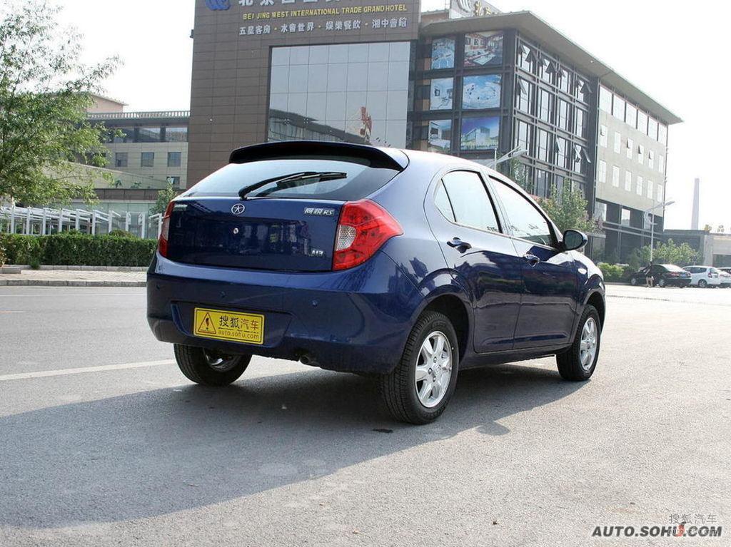 江淮同悦RS2008款1.3L 豪华型外观中国蓝t272128图片高清图片