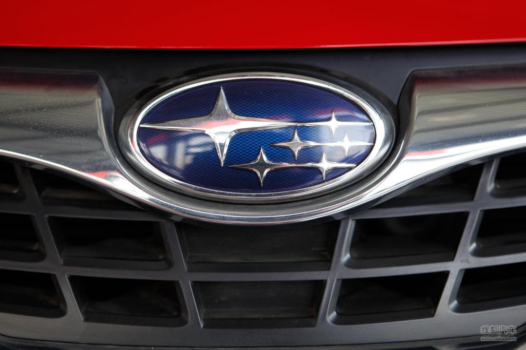 斯巴鲁翼豹两厢2009款2.0r 运动版外观炫彩亮红t528040高高清图片