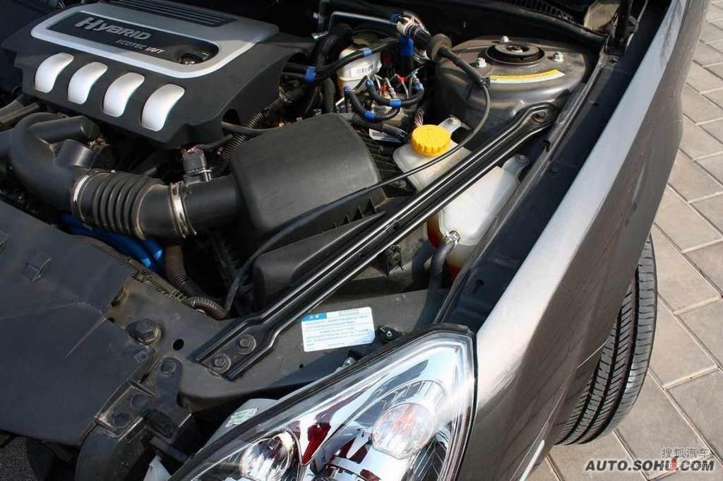 别克君越混合动力2.4l雅致版2008款别克君越混合动力2.4l油电高清图片