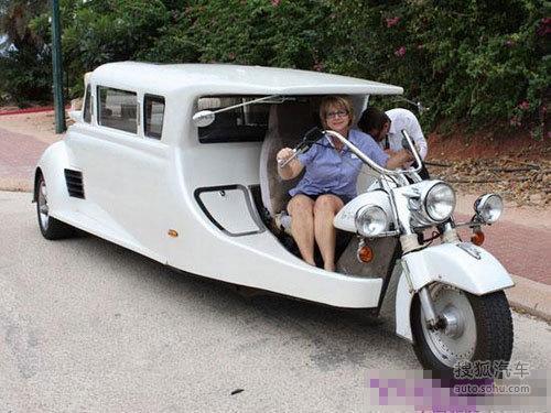 三轮车奢华改装 精美程度媲美小型房车