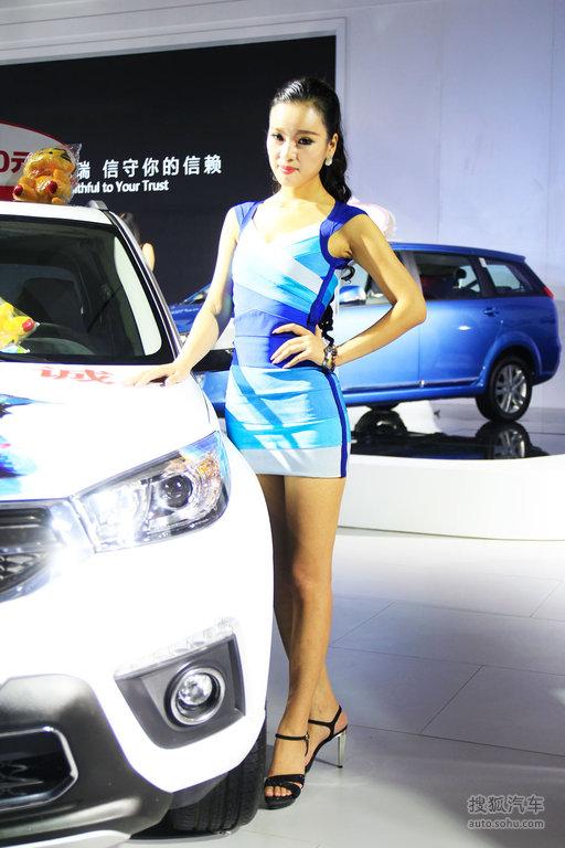 2015齐鲁秋季车展模特