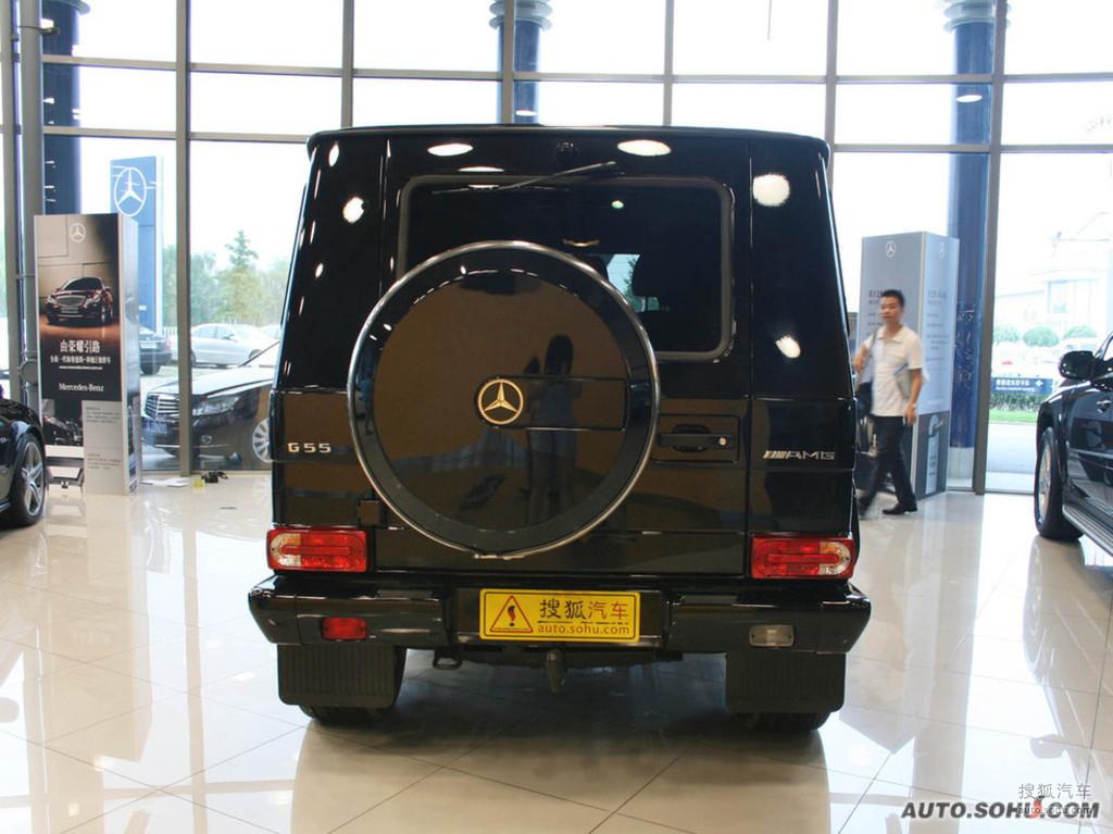奔驰g级amg2009款g55 amg外观g308892图片 图库高清图片