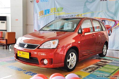 2011款昌河铃木利亚纳A+ 1.4L手动豪华型