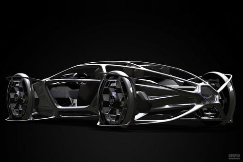 预知未来 赏三款不同风格凯迪拉克概念车高清图片