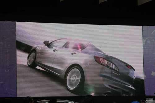 国产马自达3三厢 2011上海车展探营实拍