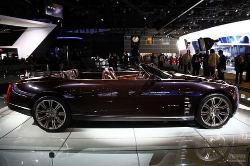 凯迪拉克CIEL概念车 洛杉矶车展实拍