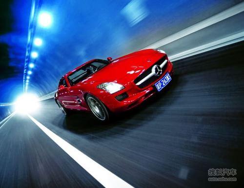 奔驰 SLS AMG 实拍 其它 图片