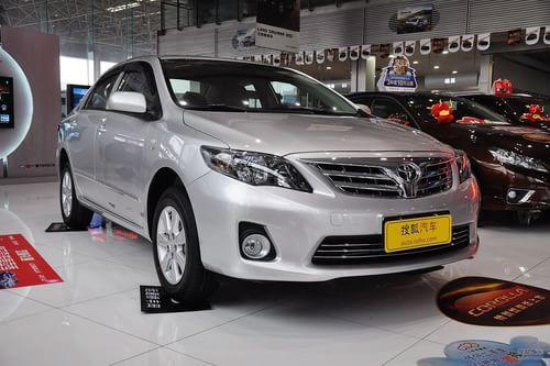 2012款丰田卡罗拉1.6L GL手动炫装版