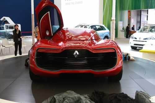雷诺DeZir 2011上海车展探营实拍