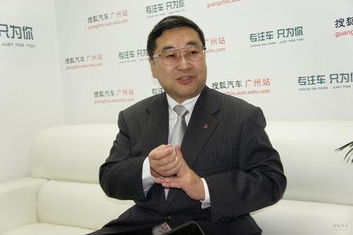 三菱汽车销售(中国)有限公司总经理 饭田键治