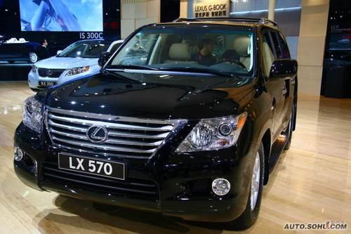 LX570 09上海车展实拍