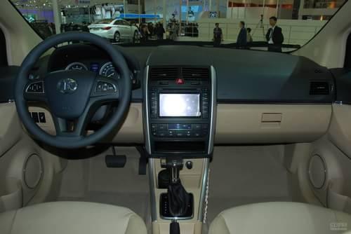 北京汽车BC301 上海车展实拍