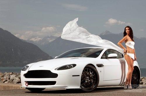 阿斯顿马丁 V8 Vantage 实拍 改装 图片