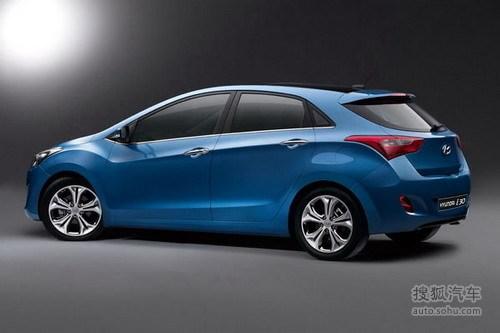 现代新一代i30亮相 预计随后将引入国产