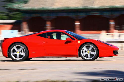 法拉利 458 Italia 实拍 评测 图片