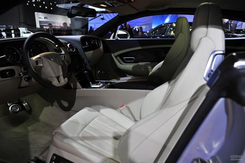 2012款宾利欧陆GT 北美车展实拍