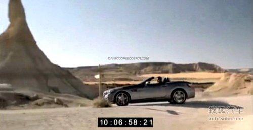 明年1月首发 奔驰全新SLK跑车广告发布