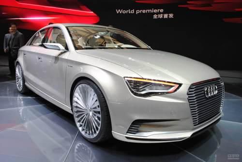 奥迪A3 e-tron概念车 上海车展实拍