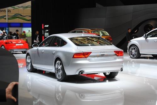 奥迪A7 2011上海车展探营实拍