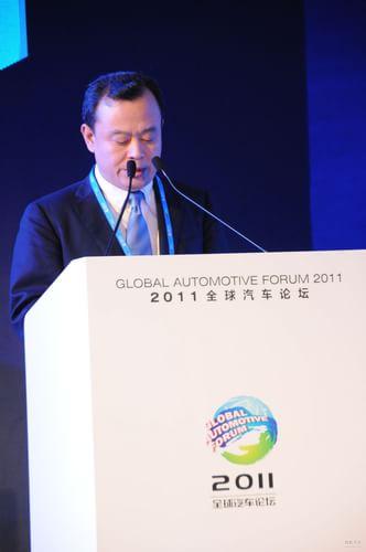 中国国际贸易促进委员会汽车行业委员会会长 王侠