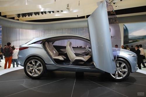 别克 Envision 概念车 实拍 外观 图片