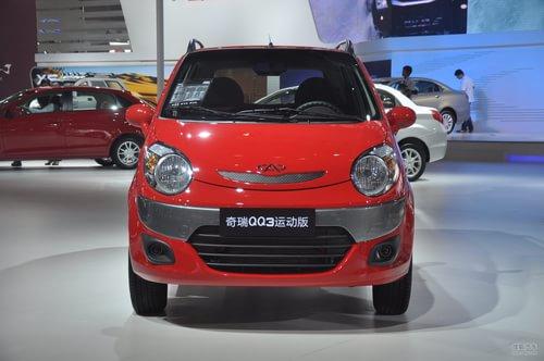 奇瑞新QQ3运动版 广州车展实拍