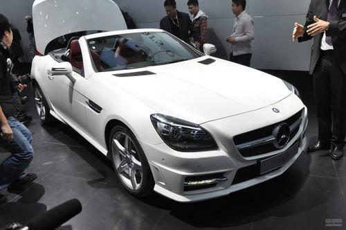 全新奔驰SLK350上海车展实拍