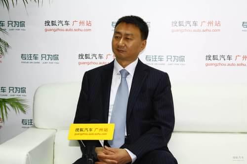 一汽马自达销售公司副总经理 田青久