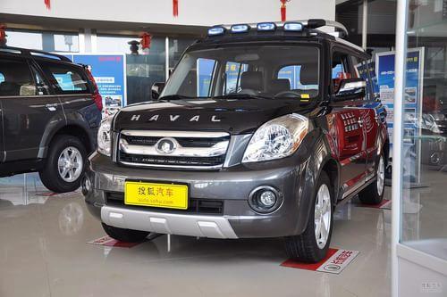 2012款长城哈弗M2 1.5L手动两驱都市型