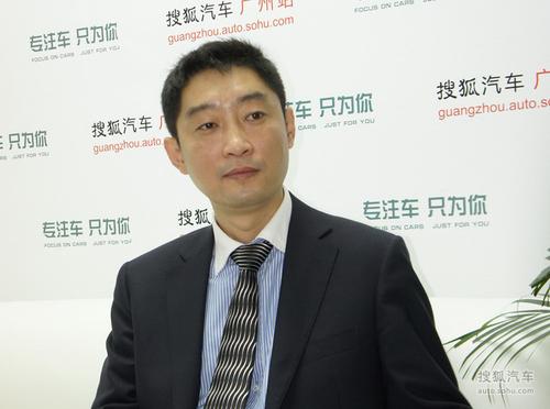 青年汽车集团副总裁、青年莲花汽车销售公司总经理黄志强
