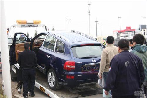 2010北京车展探营华泰B35 SUV