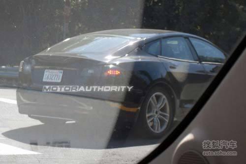 特斯拉Model S测试谍照