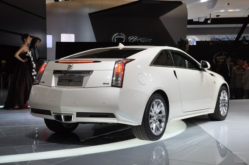 凯迪拉克CTS Coupe 上海车展实拍
