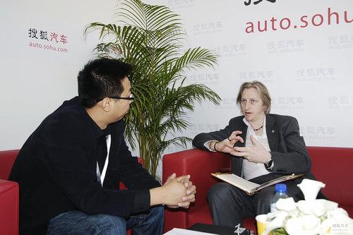 搜狐专访上海汽车全球设计总监Tony Williams
