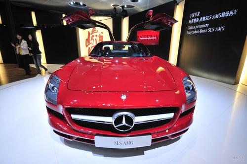 奔驰SLS AMG车展实拍