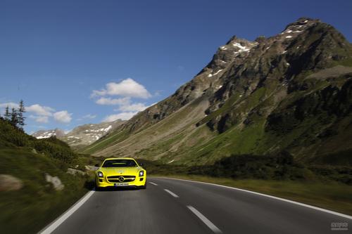 奔驰 SLS AMG 实拍 评测 图片