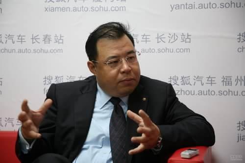 北汽股份副总裁 董海洋