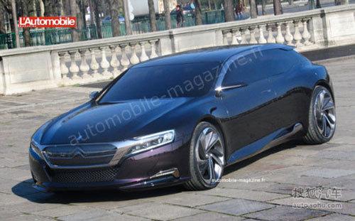 雪铁龙DS9概念车实拍曝光 最快明年量产