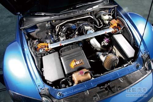 装涡轮 自动变手动 马自达RX-8超级改装