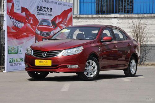 2013款宝骏630 1.5L手动舒适型