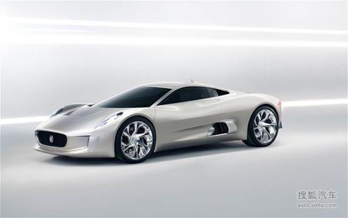 捷豹c-x75插电式混合动力车