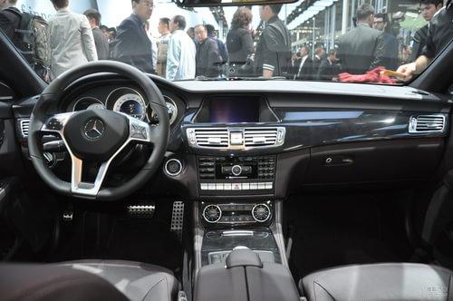 全新奔驰CLS350 上海车展实拍