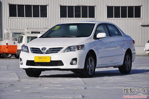 2012款丰田卡罗拉1.8L GL-i手动炫装版