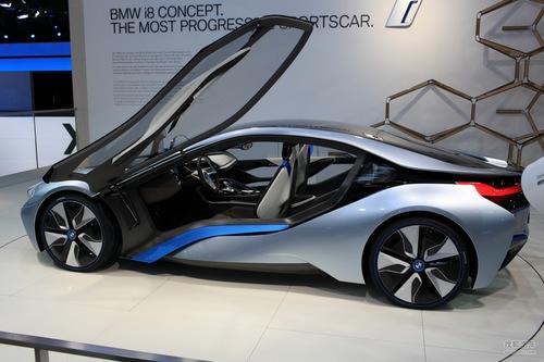 2012款宝马i8法兰克福车展实拍