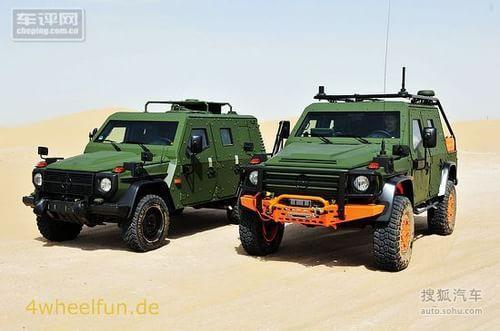 奔驰G 6X6和LAPV 6.1:军用G级年底来袭