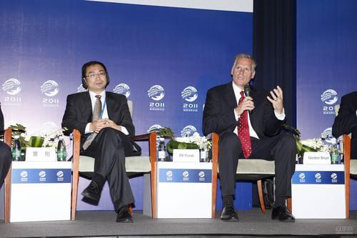 分会场讨论 佩卡集团副总裁Bill Kozek发言