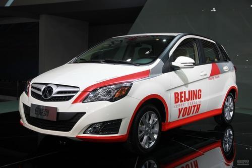 北京汽车E150 2012成都车展实拍