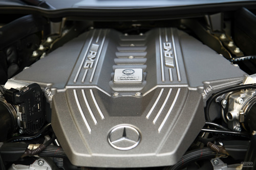 奔驰 SLS AMG 实拍 底盘/动力 图片