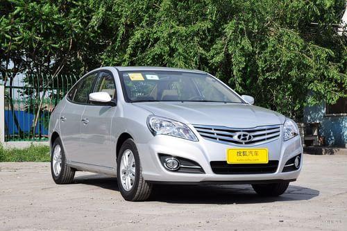2011款北京现代新悦动 1.6L自动豪华型